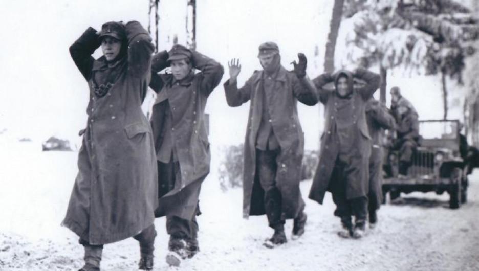 Пленные немцы, 1944 год.