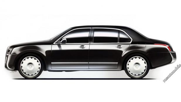 """Так, по версии """"Русского автомобиля"""", может выглядеть первый автомобиль проекта """"Кортеж"""""""