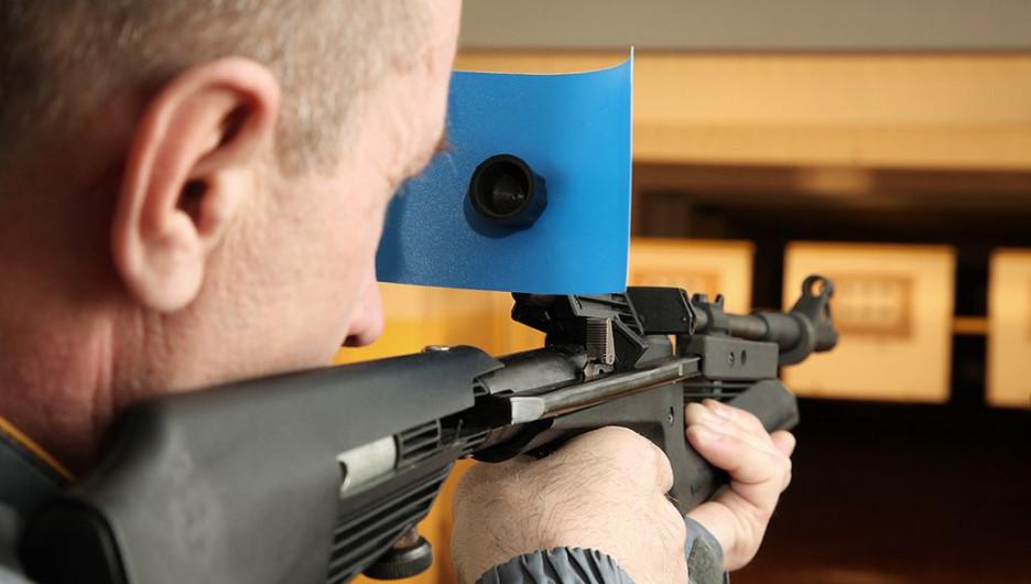 Пулевая стрельба.
