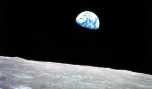 Историческая фотография Земли от 24 декабря 1968 года.