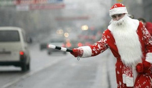 Трудная работа Деда Мороза.