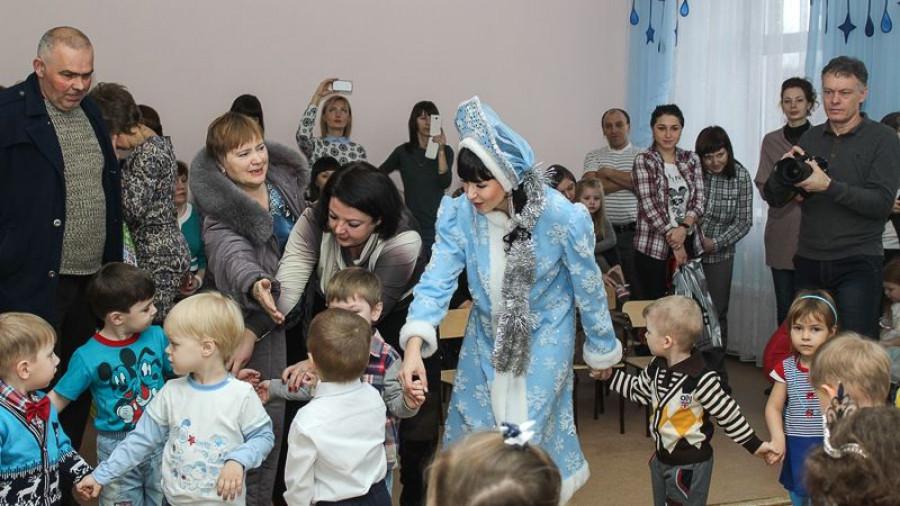 открытие детского сада в Бийске.