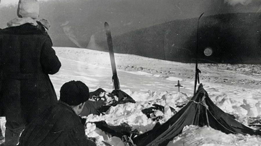 Гибель на перевале Дятлова.