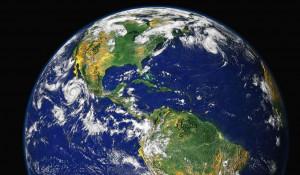 Земля. Вид из космоса.