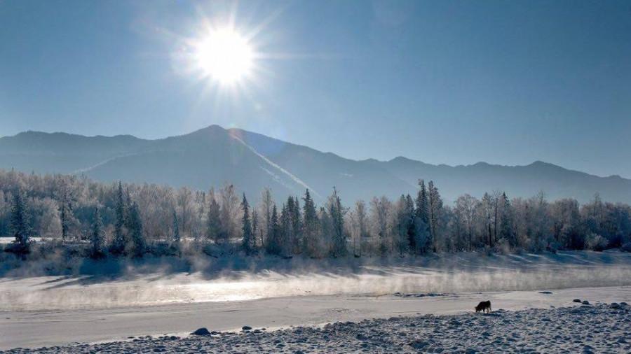 Зимний фототур на Мультинских озерах.