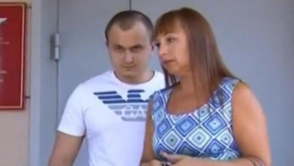 Дмитрий Найден с адвокатом.