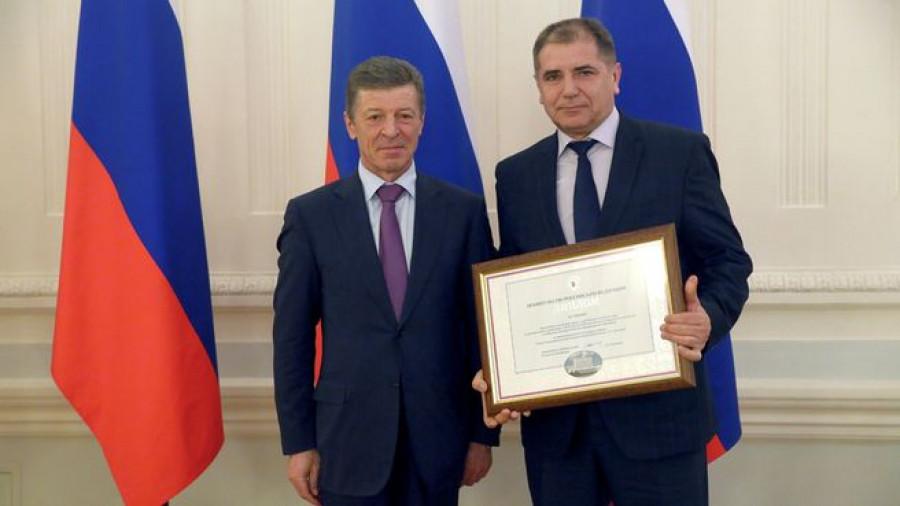 Дмитрий Козак и Анатолий Воронков.