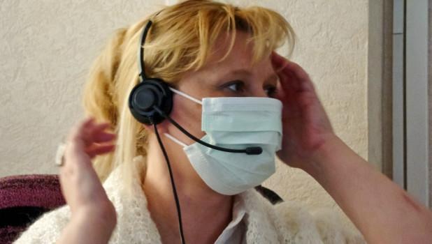 Грипп, ОРВИ, медицинская маска.