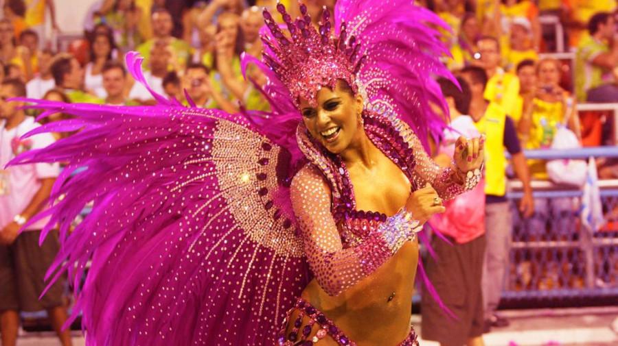 Карнавал в Рио-де-Жанейро.