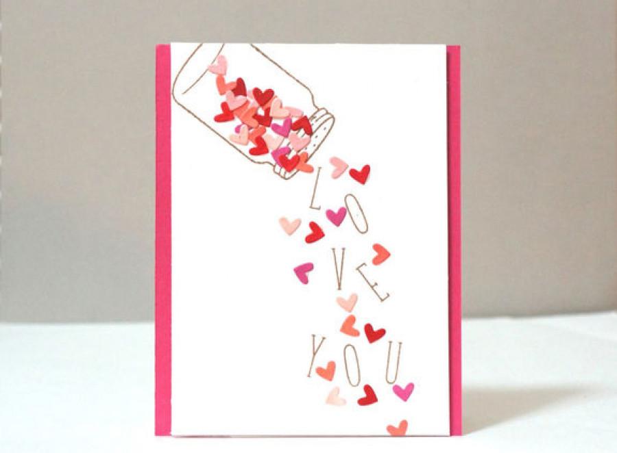 Валентинки своими руками.