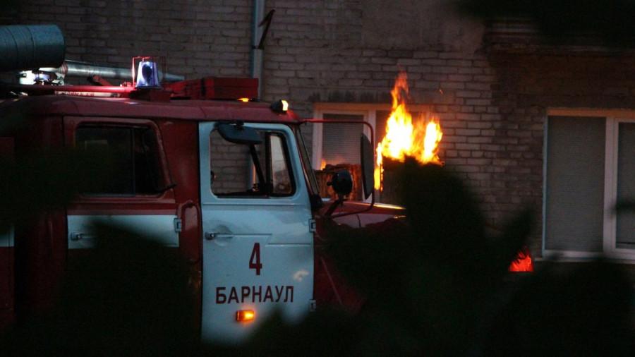 Пожар в жилом доме.