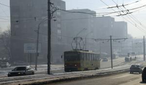 Транспорт Барнаула. Автомобили и трамвай.