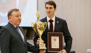 Лучшие спортсмены и тренеры Алтайского края получили награды по итогам выступлений в 2015 году. 16 февраля 2016 года.