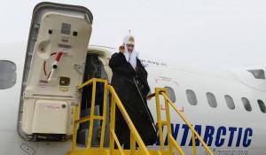 Визит патриарха Кирилла в Антарктиду.