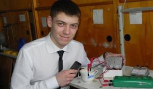 Игорь Сауэр, ученик 11 класса славгородской СОШ №15.