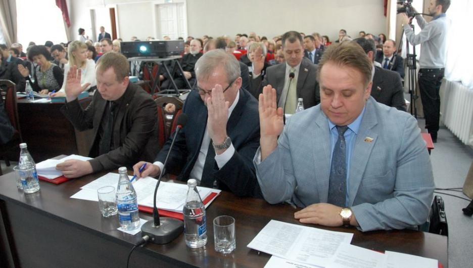 Депутаты Барнаульской гордумы.