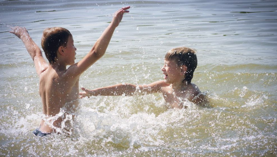 Лето. На пляже.