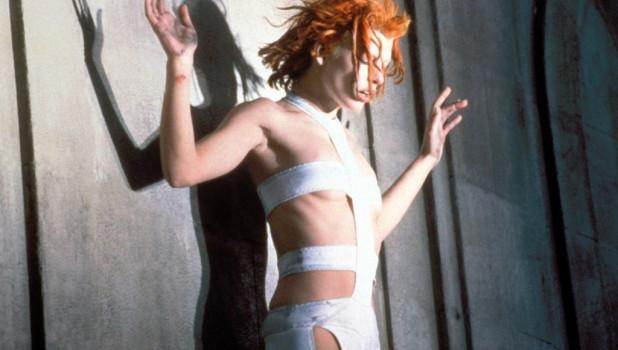 """Лилу (Милла Йовович). Фильм """"Пятый элемент"""" (1997 год)."""