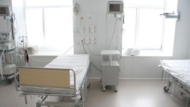 В больнице. В операционной.