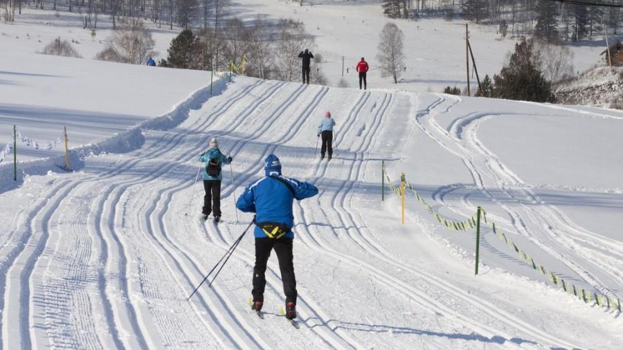 6 марта прошел первый Белокурихинский лыжный марафон.