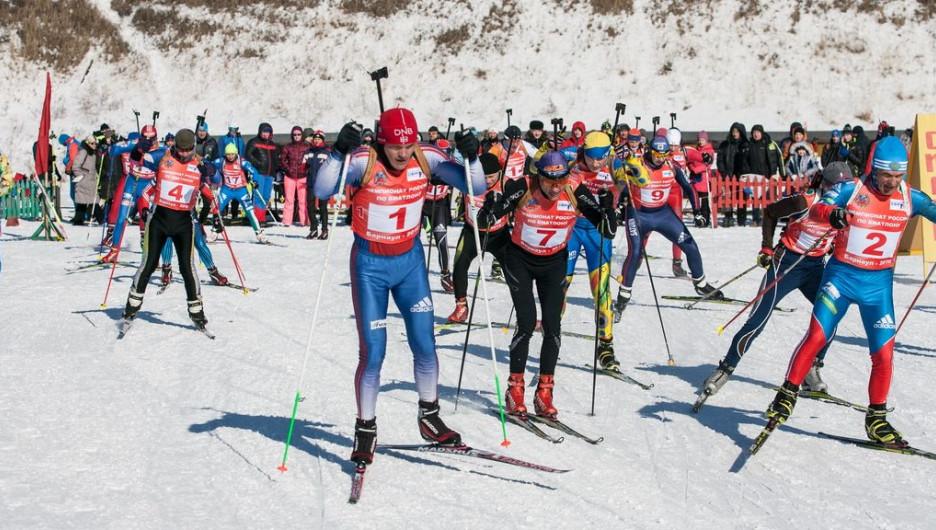 В Барнауле уже в пятый раз прошел чемпионат России по биатлону среди ветеранов