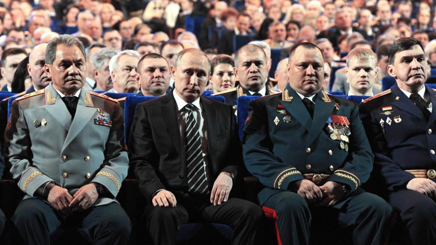 Сергей Шойгу и Владимир Путин.