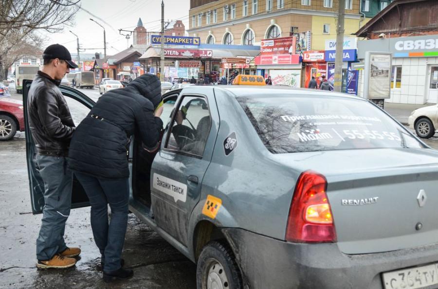 Рейд ГИББД против нелегальных такси в Барнауле