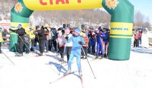 В селе Алтайском закрыли лыжный сезон.