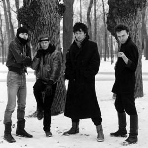 Виктор Сологуб («Странные игры»), Борис Гребенщиков, Виктор Цой и Константин Кинчев.