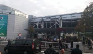 Взрыв в Брюсселе.