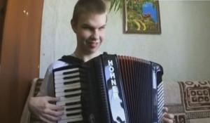 Незрячий аккордеонист