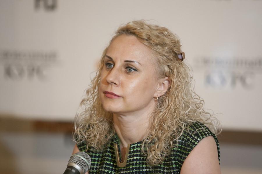 """Директор """"Евростиля"""" Ольга Романенко на """"Школе успеха"""" 23 марта."""