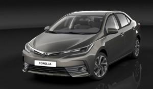 Рестейлинговая Toyota Corolla