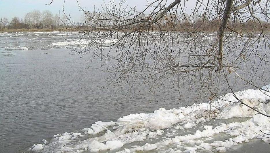 Паводок, Катунь.