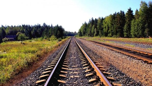 Рельсы. Железнодорожные пути.
