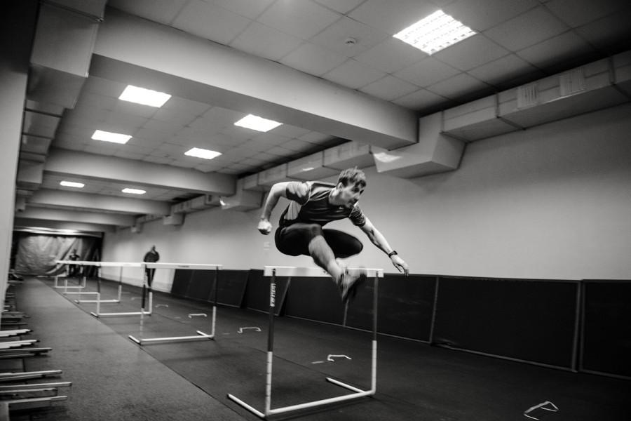 Как тренируется чемпион мира Сергей Шубенков.