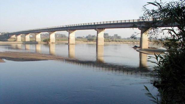 Мост через Чумыш в Тальменском районе.