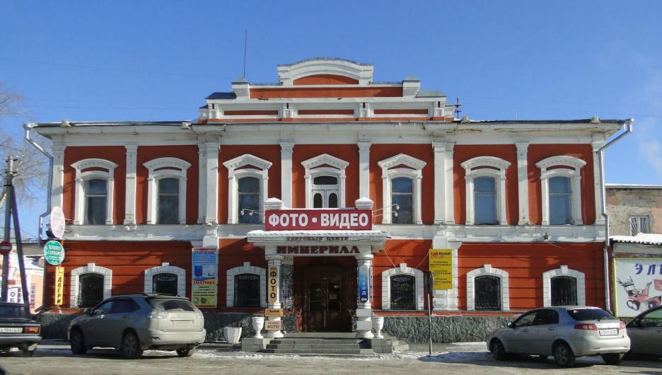 Здание на ул. Льва Толстого, 33 продают за долги.
