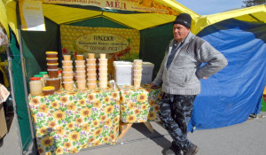 8 апреля в Барнауле открылась первая в 2016 году ярмарка мёда.