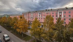 Барнаул осенью. Проспект Ленина.