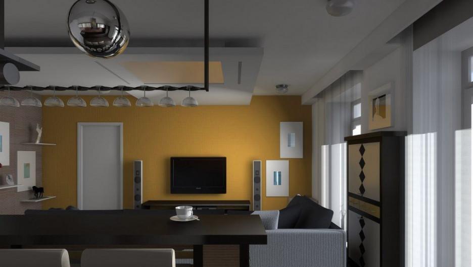 Интерьер двухкомнатной квартиры.