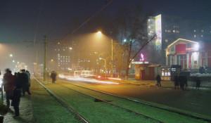 Ночной город. Улица.