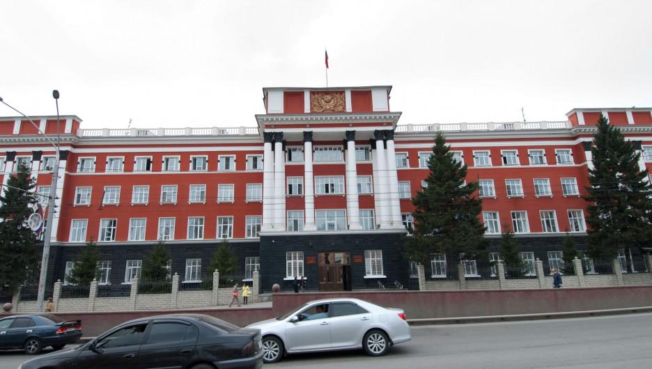 Здание Алтайского краевого суда.