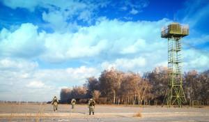 Алтайские пограничники.