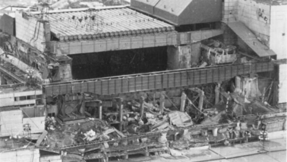 После чернобыльской катастрофы.