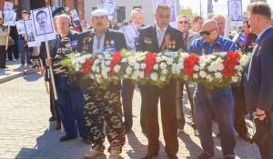 """В Барнауле почтили память """"чернобыльцев""""."""