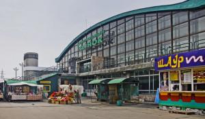 Торговый павильон на Старом базаре.