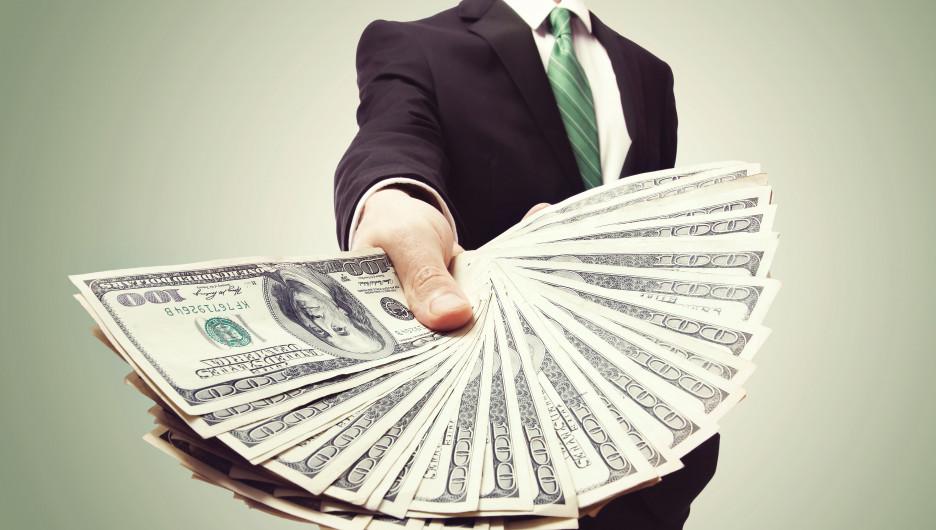 Доллары. Деньги.