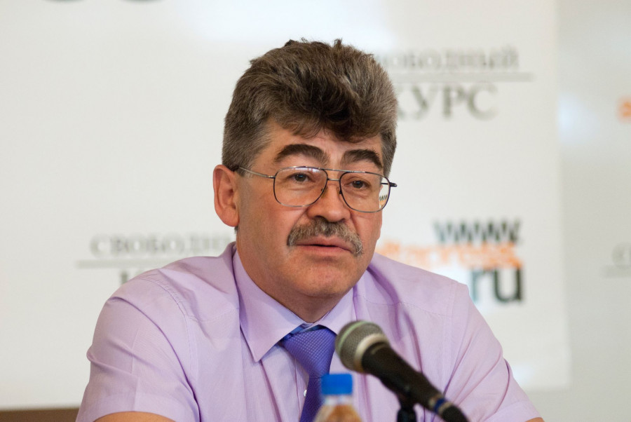 """Владимир Графеев на """"Школе успеха""""."""