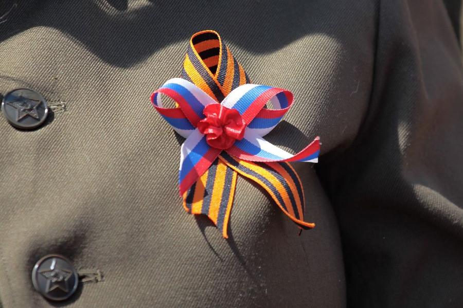 День Победы в Барнауле. 9 мая 2016 года.